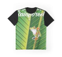 Amazon Rainforest poster Graphic T-Shirt