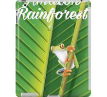 Amazon Rainforest poster iPad Case/Skin