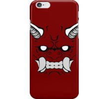 Oni (no outline) iPhone Case/Skin