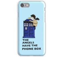 Castiel Has The Phone Box iPhone Case/Skin