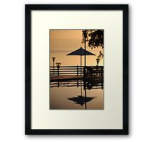 Dead Sea 4, Jordan Framed Print