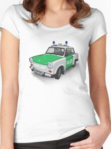 Volkspolizei Trabant 601, Colour Women's Fitted Scoop T-Shirt