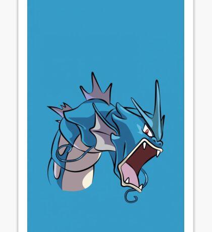 Awesome Gyrados Pokemon Go Sticker