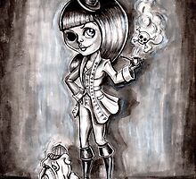 Big eyes - Miss Terri Riddles by Isobel Von Finklestein