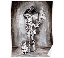 Miss Terri Riddles - Big eyed gothic investigateur extraordinaire!  Poster