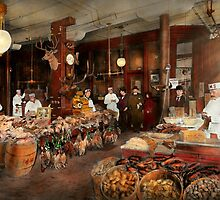 Butcher - The game center 1895 by Mike  Savad