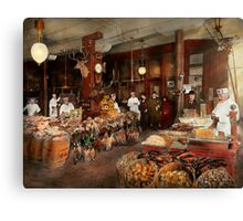 Butcher - The game center 1895 Canvas Print