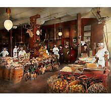Butcher - The game center 1895 Photographic Print