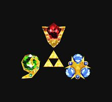 The Spiritual Stones inspired from Ocarina of Time Unisex T-Shirt