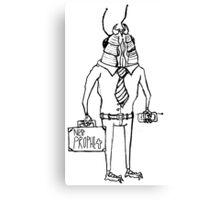 Business-roach Canvas Print