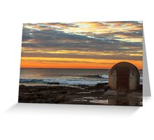 Newcastle Ocean Baths Pumphouse Greeting Card