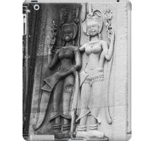 Devatas at Angkor Wat, Cambodia iPad Case/Skin