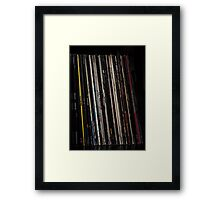 Vinyl - Collection Framed Print