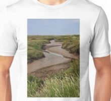 Blakeney mudflats and saltmarsh Unisex T-Shirt
