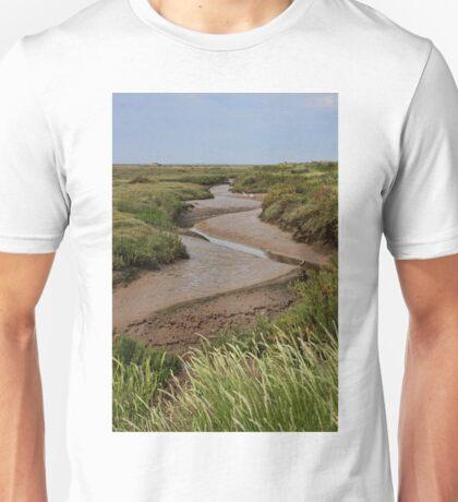 Blakeney mudflats and saltmarsh Unisex T-Shirt