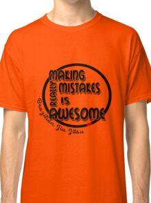 BJJ Brazilian Jiu Jitsu - making mistakes Classic T-Shirt