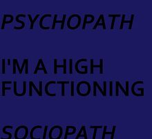 High Functioning Sociopath by bassgirl27