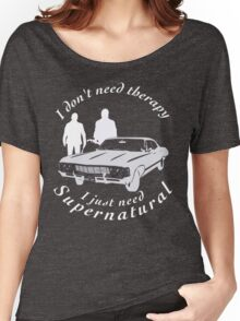 supernatural sam and dean, baby Women's Relaxed Fit T-Shirt