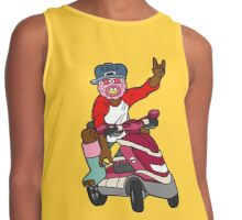 Tyler / Trouble On My Mind Contrast Tank