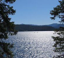 Tranquil Lake Coeur d'Alene by jkmarshall