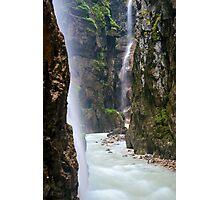 Alpine Waterfall Photographic Print