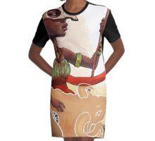 Aries Graphic T-Shirt Dress
