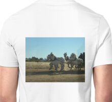 Pulling The Stagecoach_Longreach_Queensland_Australia Unisex T-Shirt