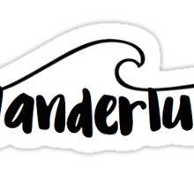 Wanderlust Wave Sticker