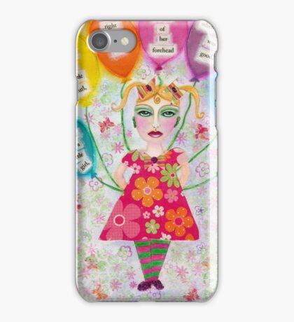 Madame Minx and the Talking Balloons iPhone Case/Skin