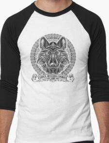 Legend of Zelda Twilight Princess Wolf Link Line Artly  Men's Baseball ¾ T-Shirt