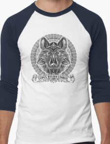 Legend of Zelda Twilight Princess Wolf Link Line Artly  Men's Baseball ¾ T-Shirt