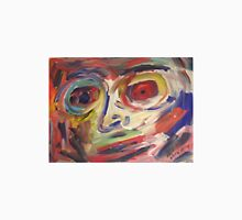 Abstract painting of face by Dore' Unisex T-Shirt