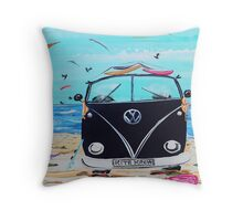 KITE KREW VW Kombi Van  Throw Pillow