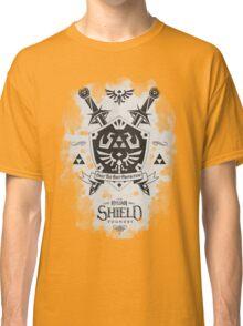 Legend of Zelda Hylian Shield Geek Line Artly  Classic T-Shirt