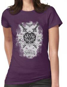 Legend of Zelda Hylian Shield Geek Line Artly  Womens Fitted T-Shirt