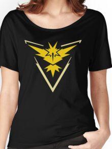 Pokemon Go | Team Instinct | Black Background | HUGE | New! | High Quality! Women's Relaxed Fit T-Shirt