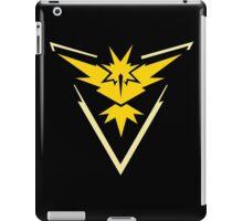 Pokemon Go | Team Instinct | Black Background | HUGE | New! | High Quality! iPad Case/Skin