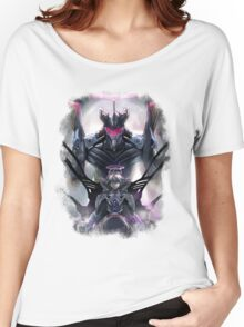 Kawrou Evangelion Anime Tra Digital Painting  Women's Relaxed Fit T-Shirt