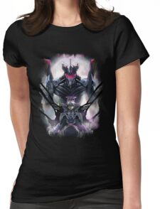 Kawrou Evangelion Anime Tra Digital Painting  Womens Fitted T-Shirt