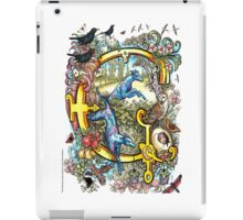 "The Illustrated Alphabet Capital  G  ""Getting personal"" iPad Case/Skin"