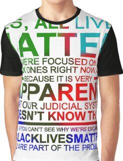 All Lives Matter T-shirt - Very Apparent  Graphic T-Shirt