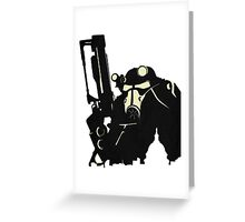 Power Suit Greeting Card