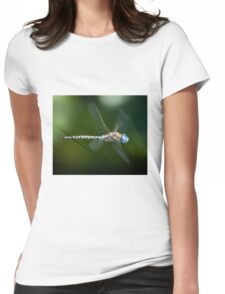 Dragonfly in flight Womens Fitted T-Shirt