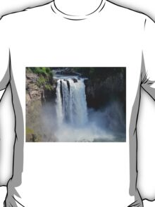 The Rush and the Roar of Snoqualmie Falls T-Shirt