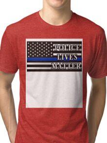 All Lives Matter T-shirt - Police Lives Matter shirt  Tri-blend T-Shirt