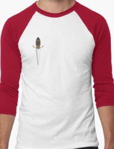 Old School Dagger Tattoo Men's Baseball ¾ T-Shirt