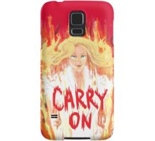CARRY ON, Mary Ver. Samsung Galaxy Case/Skin