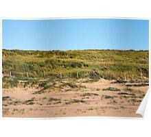 Beach promenade, Netherlands Poster