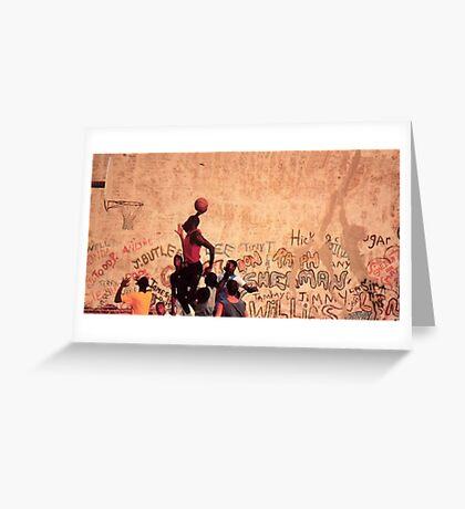 jordan! Greeting Card
