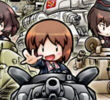 anime tank Sticker